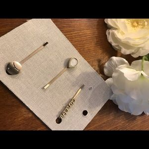Anthropologie Cancer hair pins